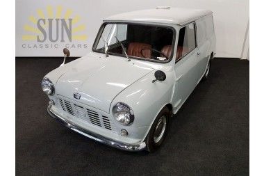 Austin Mini Van LHD 1961 CAR IS IN AUCTION
