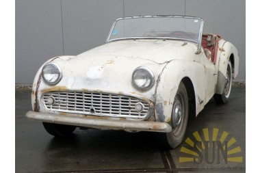 Triumph TR3 B 1962 CAR IS IN AUCTION