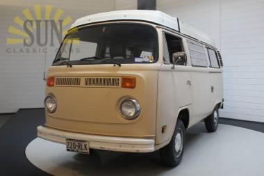 Volkswagen T2 westfalia camper 1977